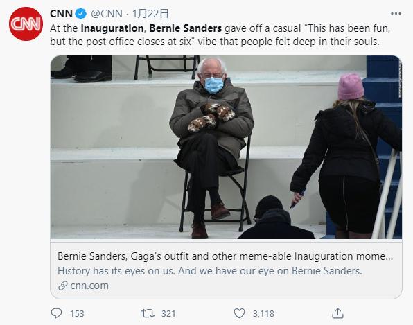 桑德斯又火了!美国人到底有多爱这个老人?