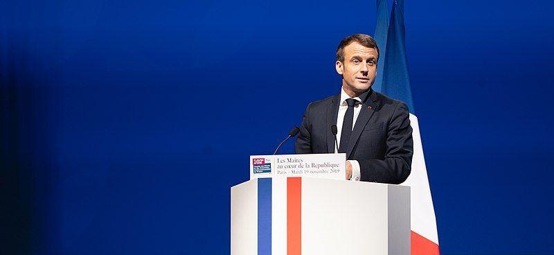 File:Emmanuel Macron, Congrès des maires 19 novembre 2019.jpg